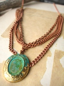 Courtney Fischer Jewelry :: Marie Necklace, $30
